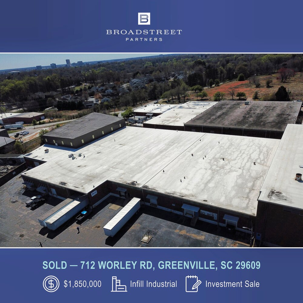 Broadstreet Partners Announces Industrial Infill Investment Sale